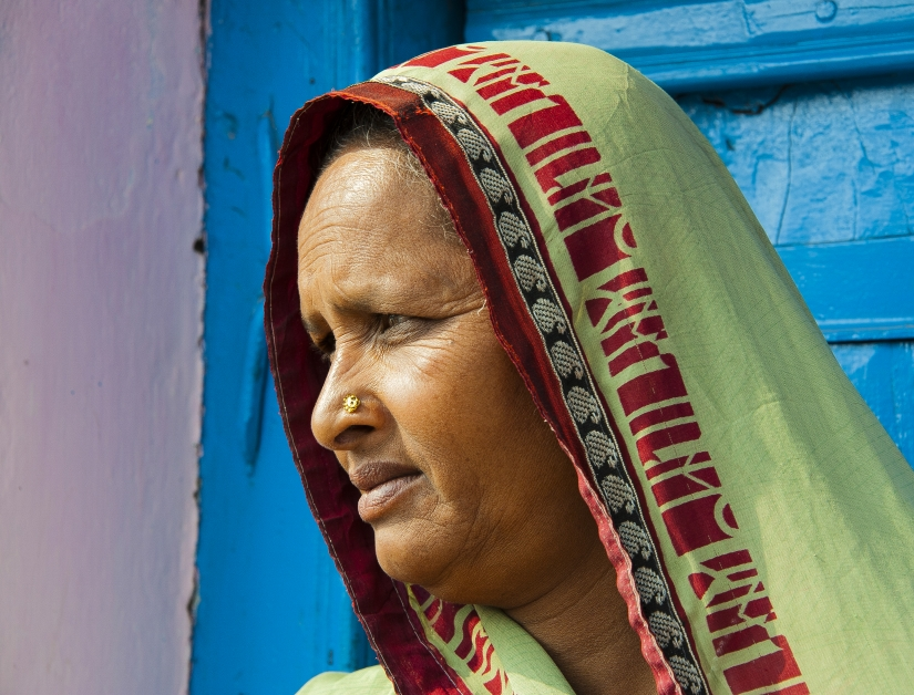 ... ritratto di donna indiana (01) ...