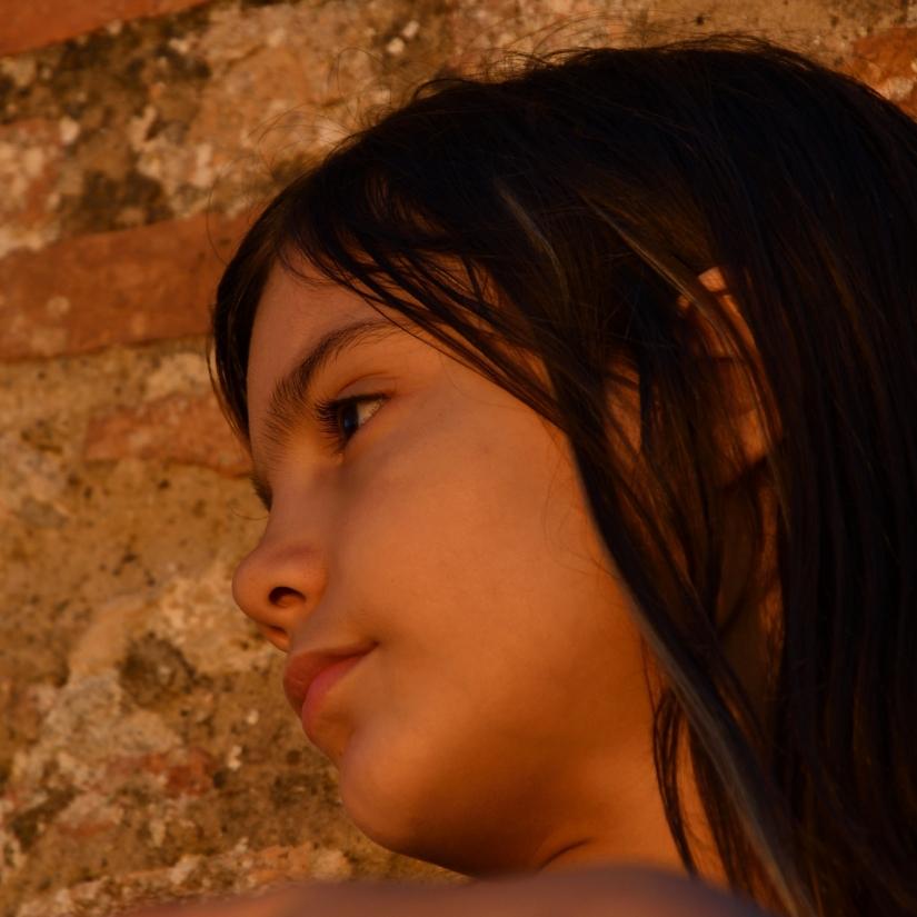 ...i pensieri di Chiara al tramonto