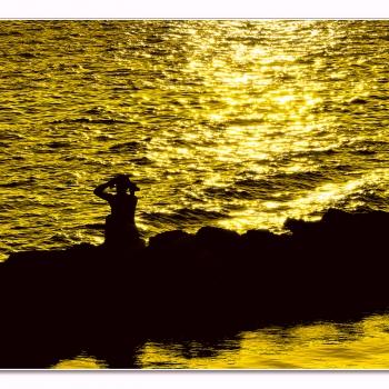 ...la sirenetta (sunset to Taranto)
