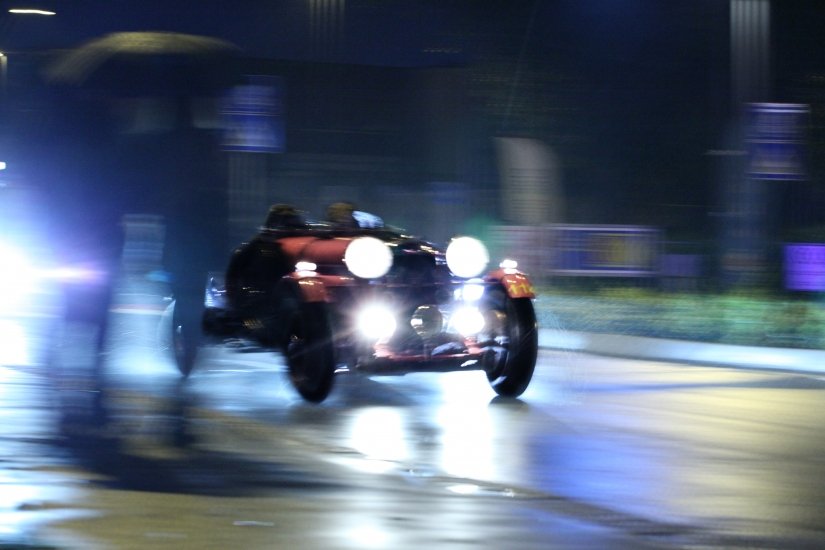 1000 MIGLIA at night and in the rain