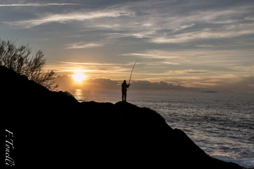 The Fisherman and the Sunset