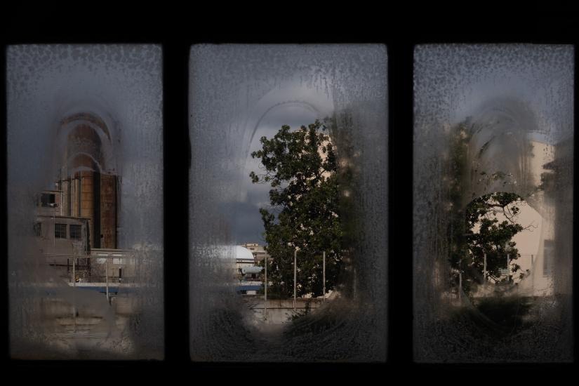dalle finestre della Centrale Montemartini