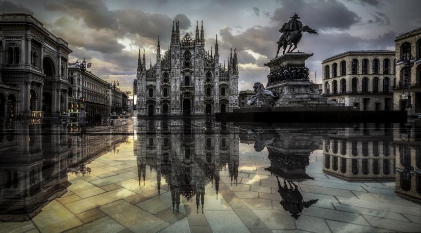 Acqua alta a Milano