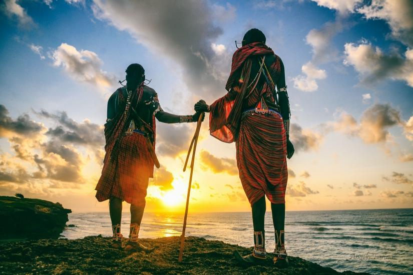 Africa,terra dei Masai