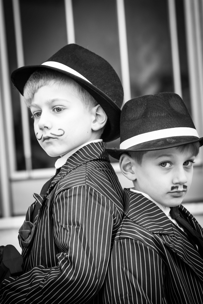 Al Capone and his brother