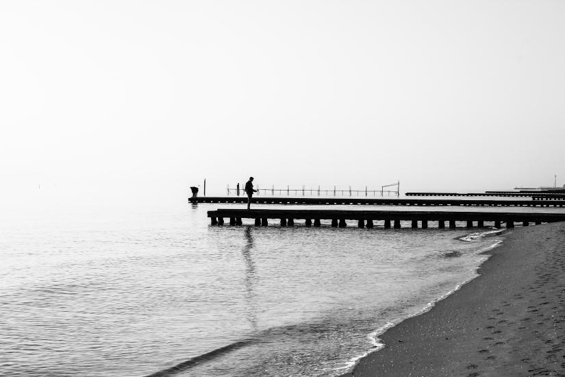 Al mare d'inverno