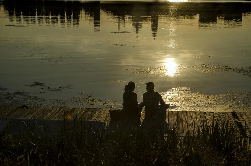 Al tramonto (profili e silhouette)