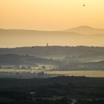 alba a Chianciano