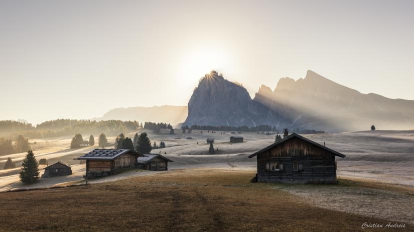 Alba all'Alpe di Siusi
