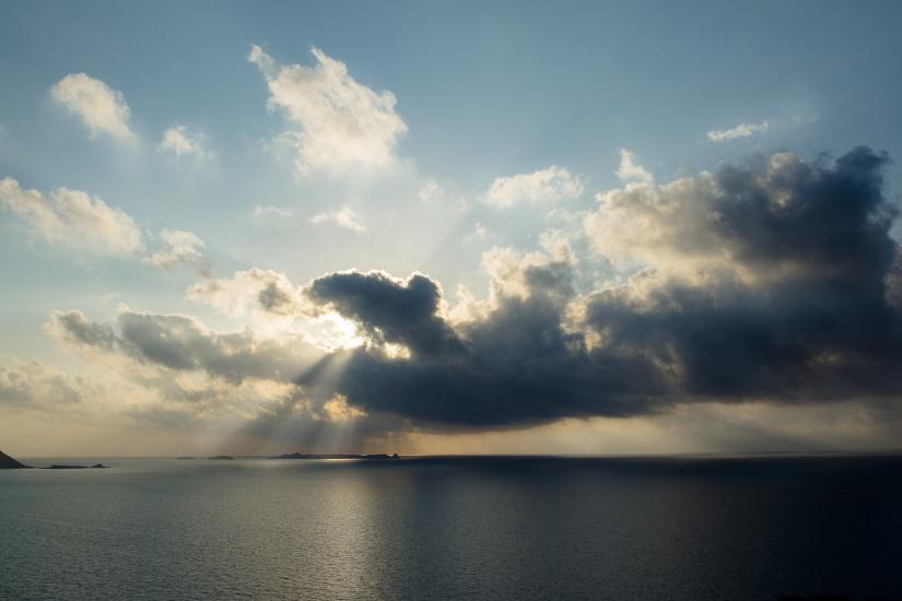 Alba sul mare di Villasimius (CA)