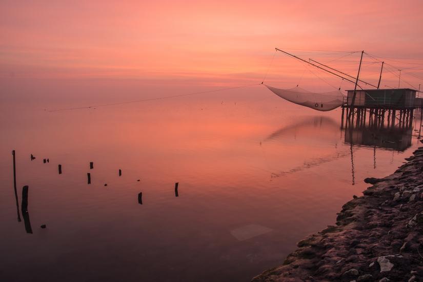 Alba sull'adriatico