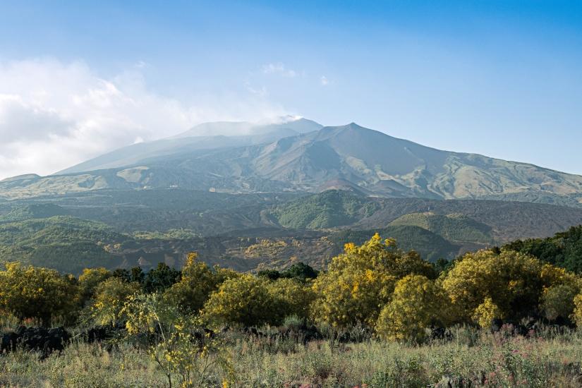 Alle pendici dell'Etna