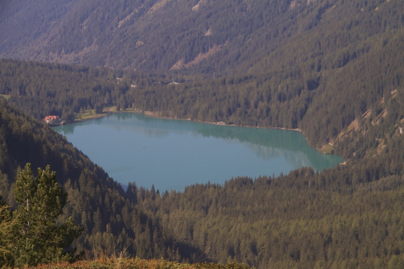 Lago anterselva dal passo stalle