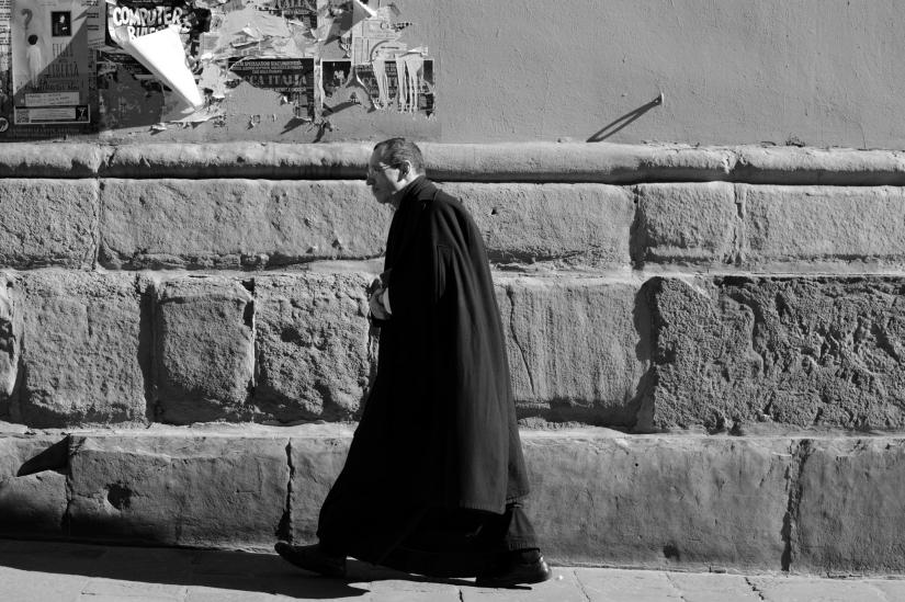 Andando alla messa