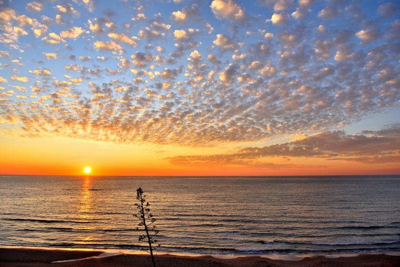 Anzio, il tramonto