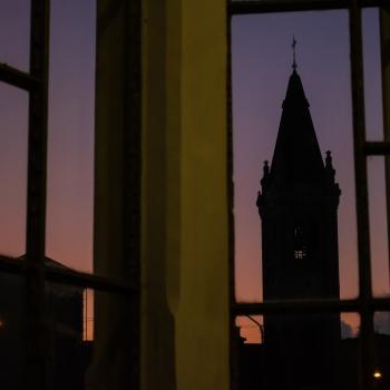 architetture al tramonto