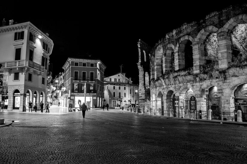 Arena di Verona by night