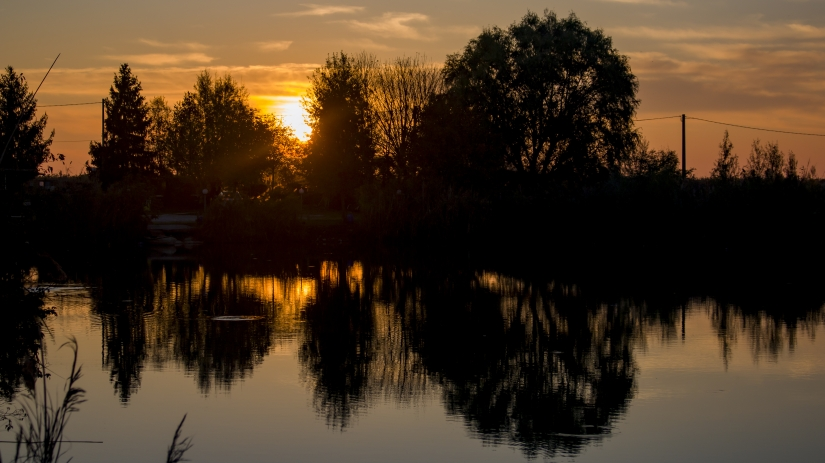 Arriva il tramonto!