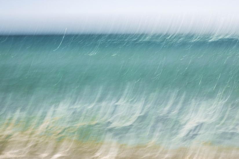 Astrattismo acqua di mare