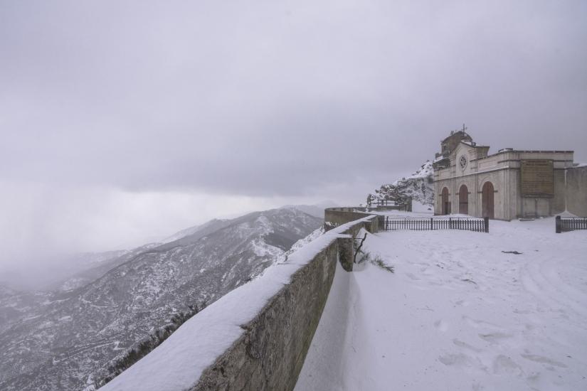 Atmosfera invernale in Sicilia
