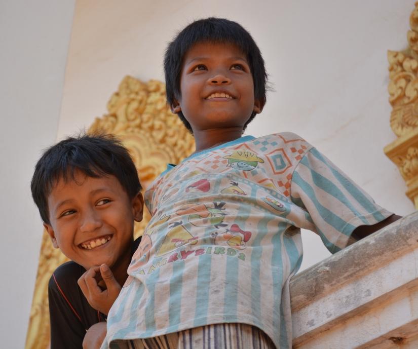 Bambini, Cambogia