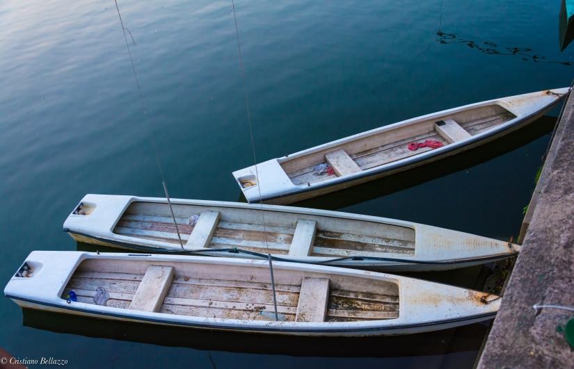 Barche sul Po