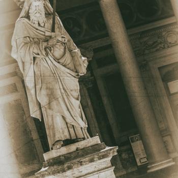 Basilica Papale San Paolo Fuori le Mura. ALBUM VINTAGE