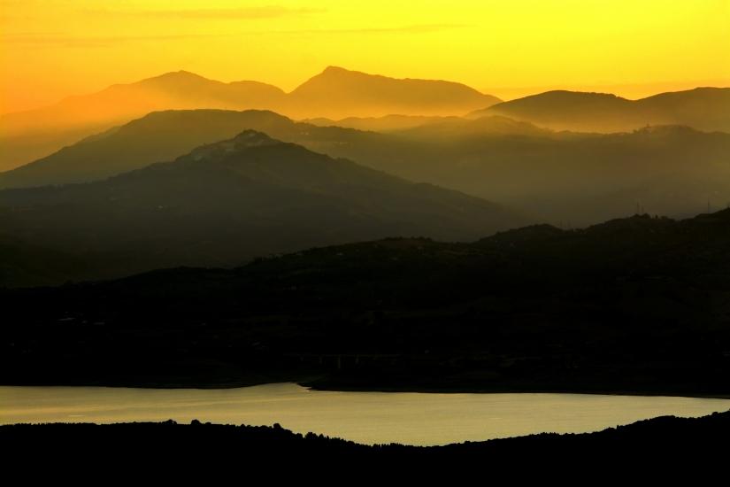 Basilicata al tramonto