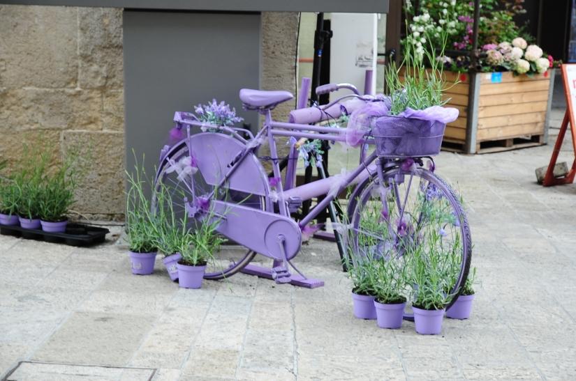 Bicicletta profumata