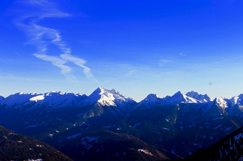 Blu mountain
