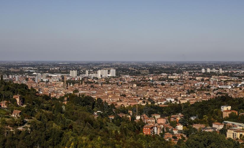 Bologna dall'alto.