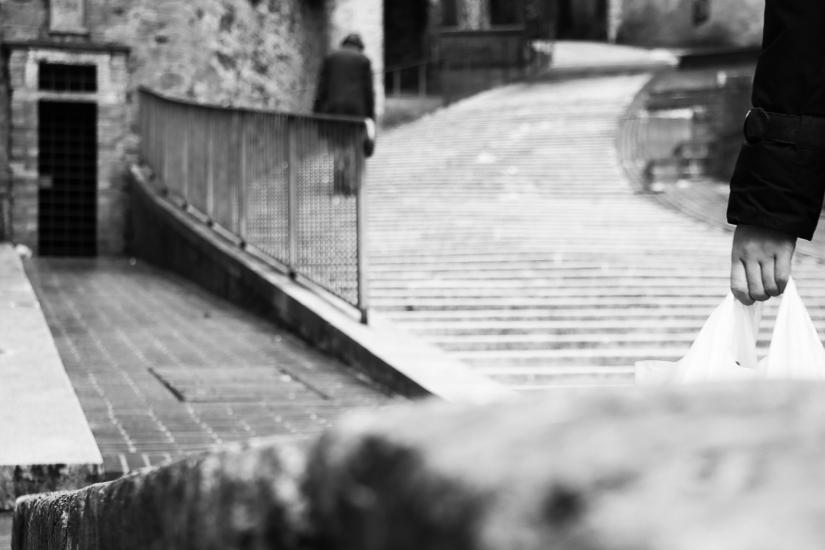 Borghi Antichi. Spesa e scale