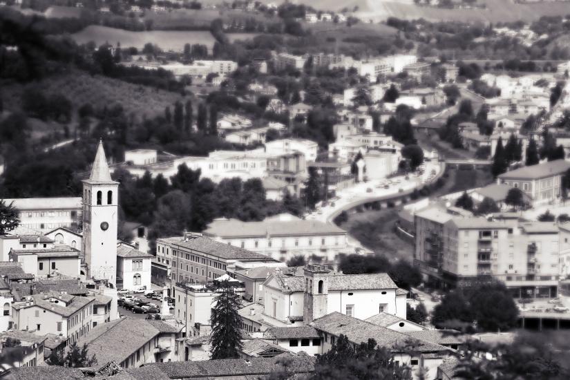 Borghi Antichi. Spoleto, il borgo e la sua espansione