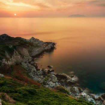 Capo Milazzo Sunset
