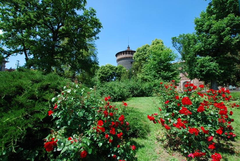 Castello Sforzesco in Fiore