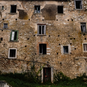 Castelpoto the ghost town