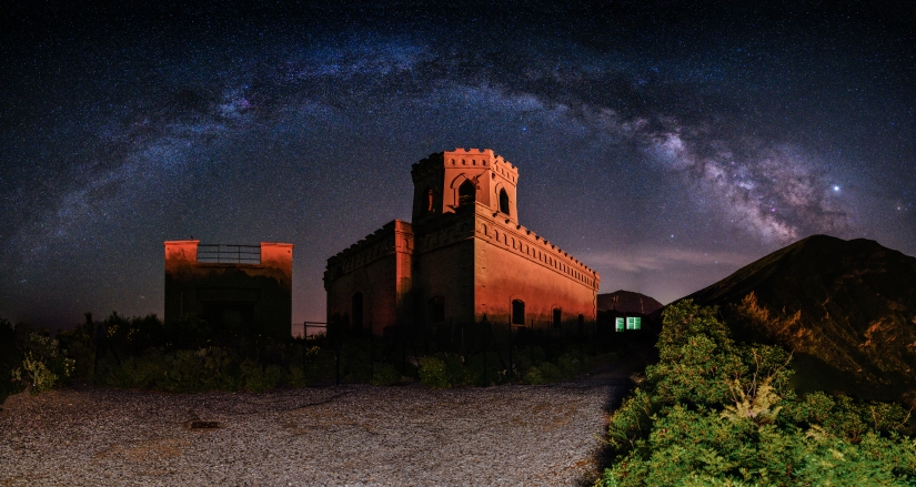 Castle Under Milkyway