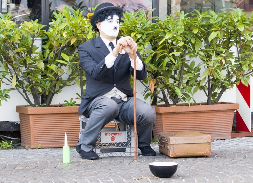 Charlie Chaplin a Montagnana!