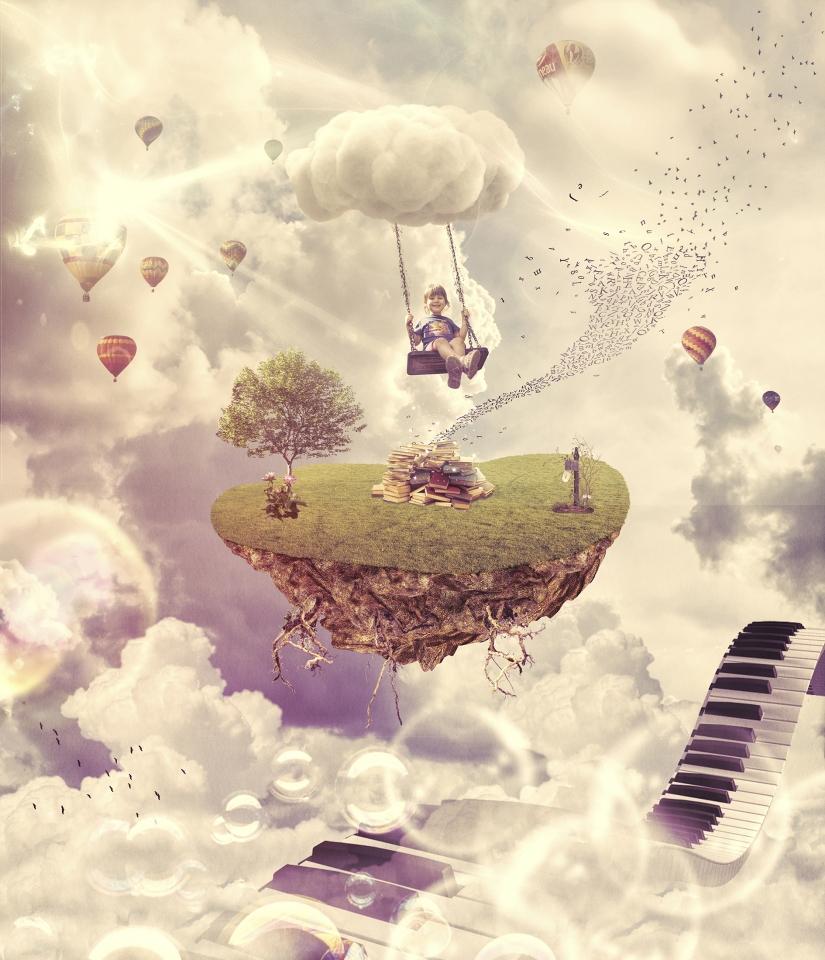 Chiara in the sky