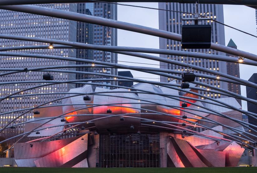 Chicago, the Millennium park