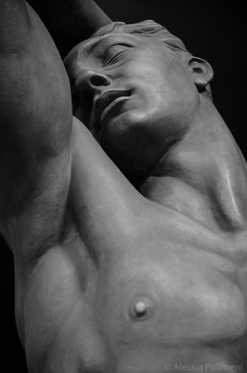 Cimitero di Staglieno, disperazione