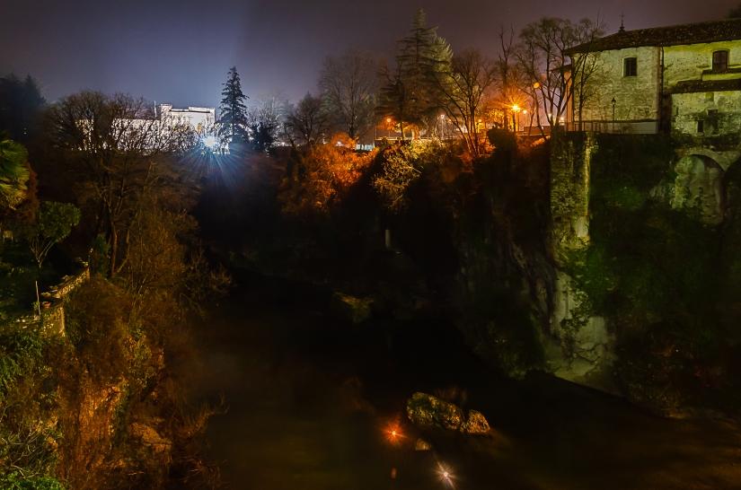 Cividale del Friuli tra notte e colori