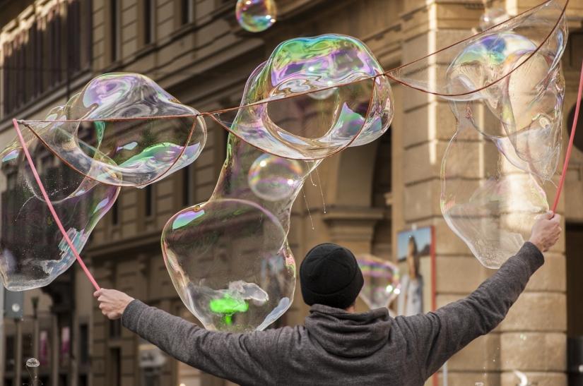 Concerto in bolle di sapone
