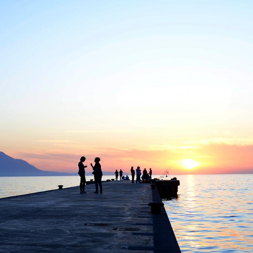 Confidenze al tramonto