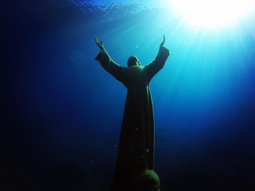 Cristo degli abissi - San Fruttuoso