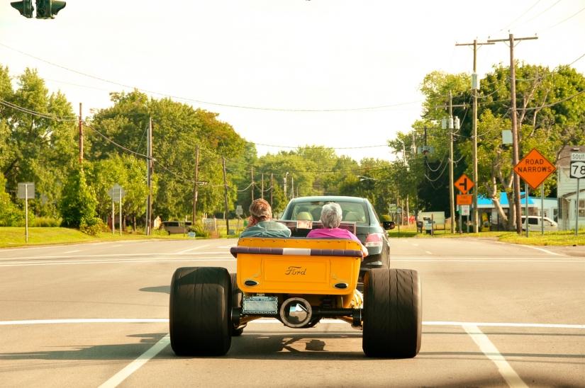 Curiosità a quattro ruote in USA