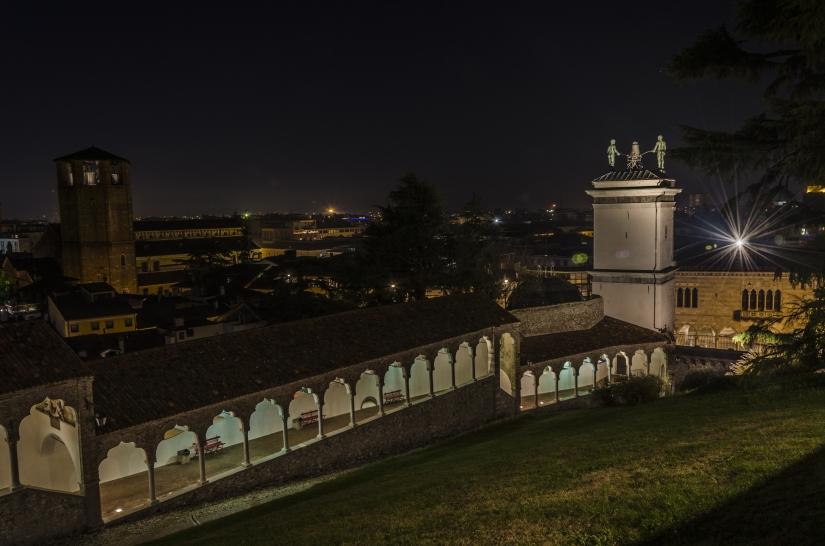 Dal Castello verso la notte