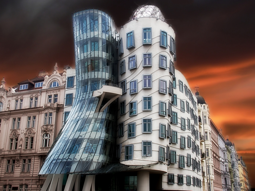 Dancing house... Praga