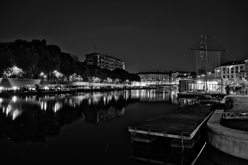 Darsena by night