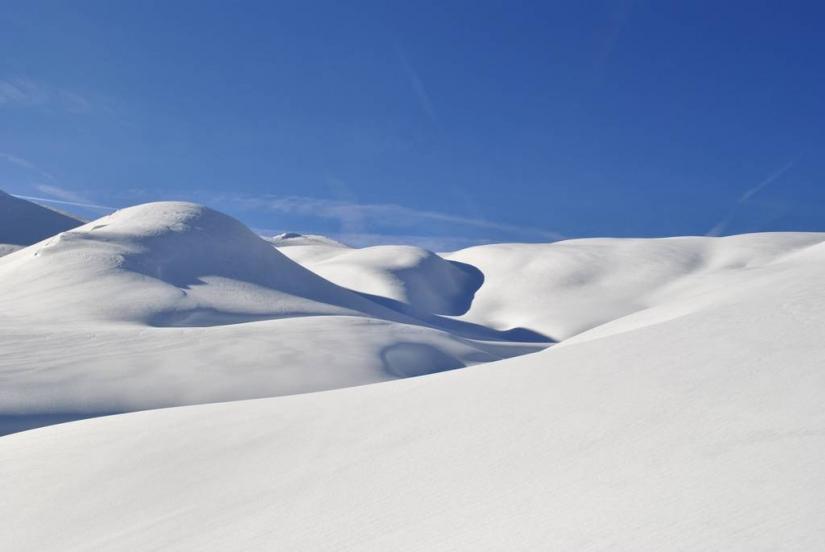 Desert of snow